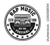 boombox vector hip hop music... | Shutterstock .eps vector #1330308554