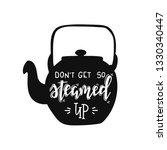 kitchen hand drawn typography... | Shutterstock .eps vector #1330340447