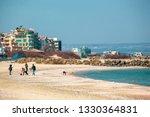 pomorie  bulgaria   march 02 ... | Shutterstock . vector #1330364831