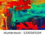 abstraction art oil paints... | Shutterstock . vector #1330365104