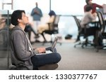 young indian software developer ... | Shutterstock . vector #1330377767