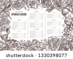 vector sketch monochrome... | Shutterstock .eps vector #1330398077
