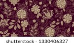 embroidery seamless pattern... | Shutterstock .eps vector #1330406327