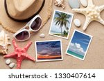 travel vacation concept with... | Shutterstock . vector #1330407614