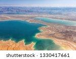 dead sea israel landscape... | Shutterstock . vector #1330417661