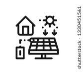solar panels producing...