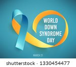 world down syndrome day. march... | Shutterstock .eps vector #1330454477