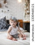 adorable two month old baby... | Shutterstock . vector #1330468121