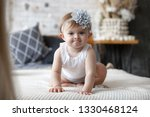 adorable two month old baby... | Shutterstock . vector #1330468124