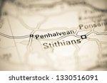 penhalvean. united kingdom on a ... | Shutterstock . vector #1330516091