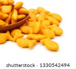 A Scaterring Of Yellow Goldfish ...
