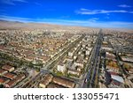 aerial konya city | Shutterstock . vector #133055471