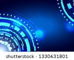 abstract circle technology... | Shutterstock .eps vector #1330631801