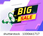 big sale word concept vector...