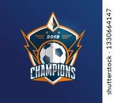 soccer football badge logo... | Shutterstock .eps vector #1330664147