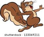 cartoon style illustration of... | Shutterstock .eps vector #133069211