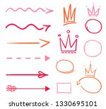 infographic elements on... | Shutterstock .eps vector #1330695101
