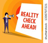 word writing text reality check ... | Shutterstock . vector #1330707221
