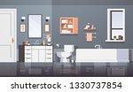 modern bathroom sink table top... | Shutterstock .eps vector #1330737854