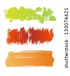colorful grunge banners | Shutterstock . vector #133076621
