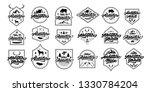 adventure black and white... | Shutterstock .eps vector #1330784204
