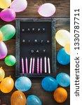 birthday background. birthday... | Shutterstock . vector #1330787711