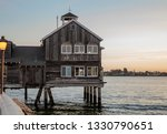 the pier cafe in seaport... | Shutterstock . vector #1330790651