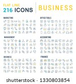 collection of vector line icons ... | Shutterstock .eps vector #1330803854
