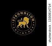 strong lion color design... | Shutterstock .eps vector #1330814714