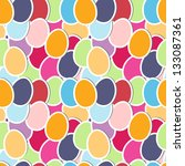 seamless pattern with cute... | Shutterstock .eps vector #133087361
