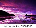 Sea Stones At Sunset Phi Phi...