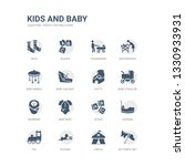 simple set of icons such as... | Shutterstock .eps vector #1330933931