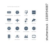 simple set of icons such as...