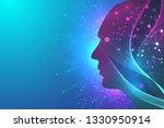 futuristic artificial... | Shutterstock . vector #1330950914