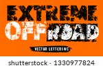 extreme off road hand drawn... | Shutterstock .eps vector #1330977824