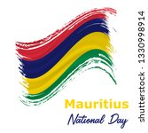 12 march  mauritius... | Shutterstock .eps vector #1330998914
