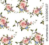 flowers pattern.for textile ... | Shutterstock . vector #1331004137