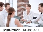 business team discussing new...   Shutterstock . vector #1331010011