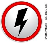 icon with spark  lighting bolt... | Shutterstock .eps vector #1331022131