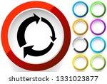 icon with circular arrow  ... | Shutterstock .eps vector #1331023877