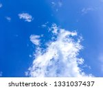 the nature of blue sky with... | Shutterstock . vector #1331037437