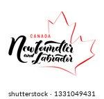 hand drawn lettering... | Shutterstock .eps vector #1331049431