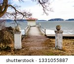 two columns bordering a... | Shutterstock . vector #1331055887