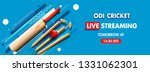 live streaming of odi cricket... | Shutterstock .eps vector #1331062301