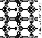 design seamless monochrome grid ... | Shutterstock .eps vector #1331069351