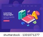 illustration on theme of... | Shutterstock .eps vector #1331071277