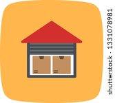 illustration  storage unit icon  | Shutterstock . vector #1331078981
