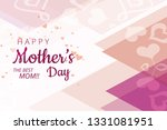 i love you the best mom mother...   Shutterstock .eps vector #1331081951