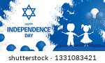 happy independence day of... | Shutterstock .eps vector #1331083421