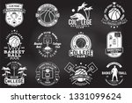 set of basketball college club... | Shutterstock .eps vector #1331099624